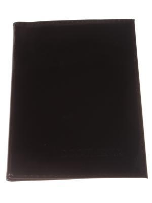Обложка для автодокументов, коричневый Радужки. Цвет: коричневый