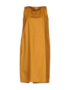 Платье до колена A.B APUNTOB. Цвет: хаки