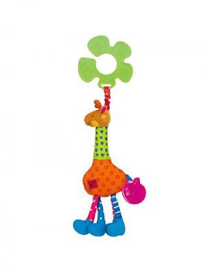 Подвеска Жираф K'S Kids. Цвет: оранжевый, розовый, зеленый, голубой