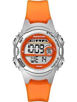 Часы TIMEX. Цвет: оранжевый