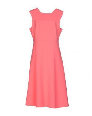 Платье до колена TARA JARMON. Цвет: коралловый