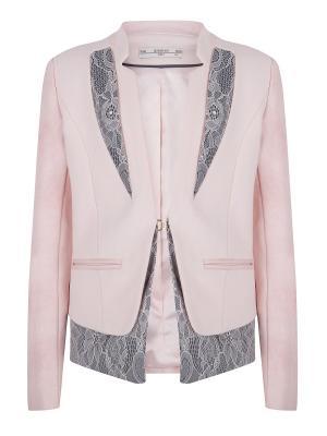 Пиджак SUPERTRASH. Цвет: бледно-розовый