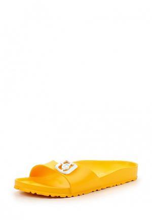 Сабо Birkenstock. Цвет: желтый