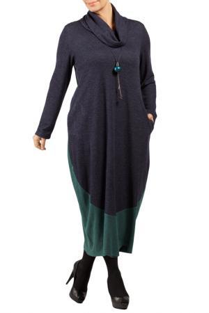 DRESS Zedd Plus. Цвет: dark green, dark blue