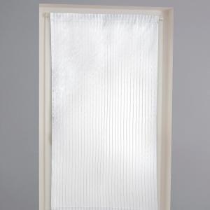 Занавеска с фактурными полосками, на кулиске, GERBERA La Redoute Interieurs. Цвет: белый