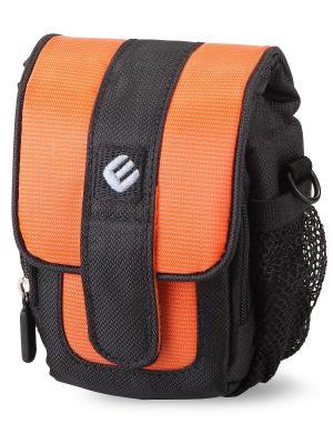 Era Pro Чехол для фотоаппарата EP-011001  11,5х7х4,5 см.. Цвет: оранжевый, черный