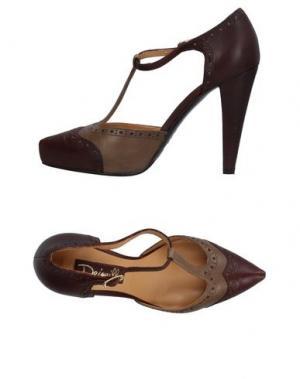 Туфли DEIMILLE. Цвет: темно-коричневый