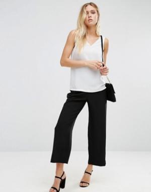 Alter Укороченные брюки. Цвет: черный