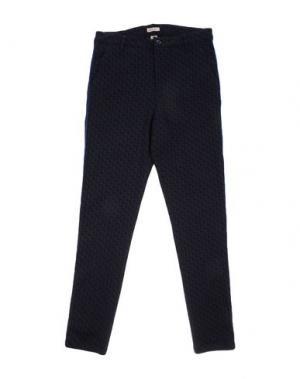 Повседневные брюки BELLEROSE KIDS. Цвет: темно-синий
