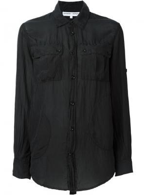 Рубашка Katharine E Hamnett at YMC. Цвет: чёрный
