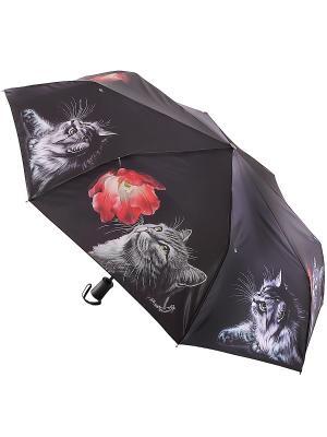 Зонт Trust. Цвет: черный, серый, красный