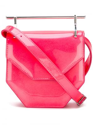 Маленькая сумка Moshino Swim M2malletier. Цвет: розовый и фиолетовый