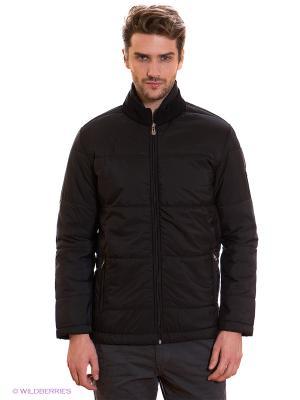 Куртка MONDIGO. Цвет: черный