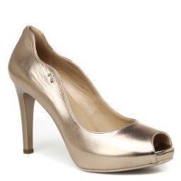 Туфли  P717370DE серо-золотой NERO GIARDINI