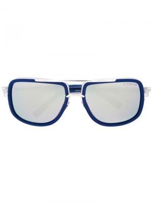 Солнцезащитные очки Mach one Dita Eyewear. Цвет: синий