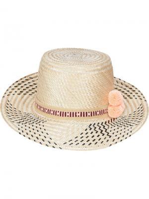 Шляпа Araya Yosuzi. Цвет: телесный