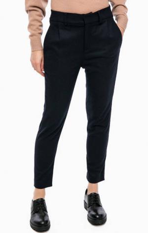 Серые зауженные брюки DRYKORN. Цвет: синий