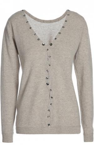 Вязаный свитер Les Ateliers De La Maille. Цвет: бежевый