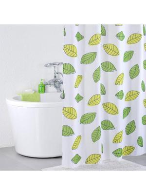 Штора для ванной IDDIS. Цвет: белый