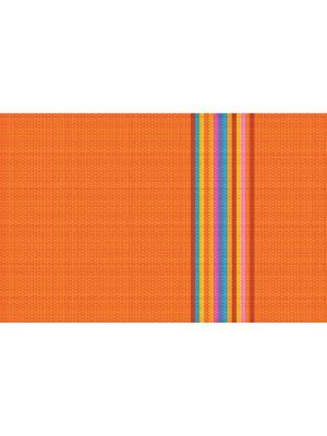 Плейсмат с принтом, набор 4 шт. ПВХ Dorothy's Нome. Цвет: оранжевый