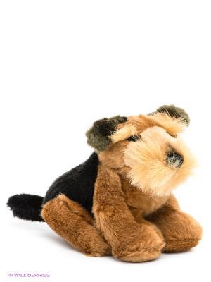 Мягкая игрушка Щенок фокс-терьера Мульти-пульти. Цвет: коричневый, черный