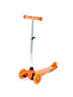 Трехколесный самокат Sweet Baby Triplex Light Up Orange. Цвет: оранжевый
