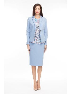 Пиджаки Nevis. Цвет: голубой