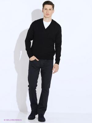 Пуловер JB casual. Цвет: черный