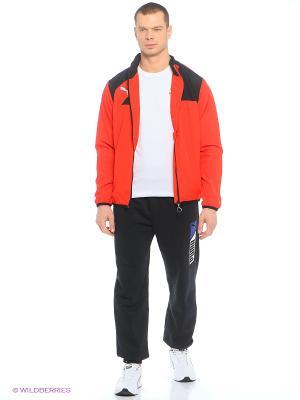 Куртка Esquadra Woven Jacket Puma. Цвет: красный