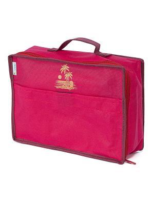 Сумка для багажа Lady in Red (28*20*9) Homsu. Цвет: красный