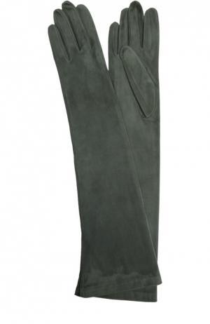 Перчатки Sermoneta Gloves. Цвет: темно-зеленый