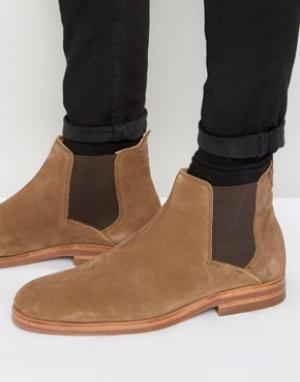 Hudson London Замшевые ботинки челси Tonti. Цвет: рыжий