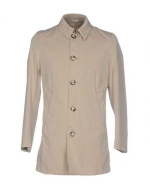 Легкое пальто MANUEL RITZ. Цвет: бежевый