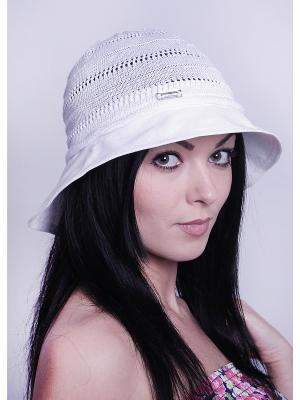 Шляпка Level Pro. Цвет: серый, белый
