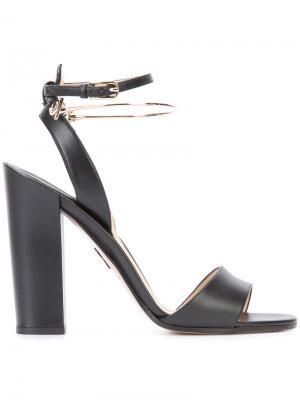 Block heel sandals Paul Andrew. Цвет: чёрный