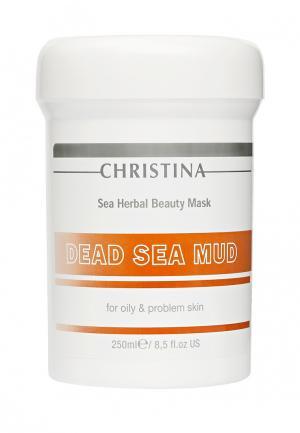 Грязевая маска для жирной кожи Christina. Цвет: белый