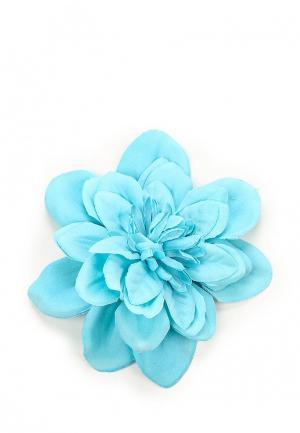 Брошь Diva. Цвет: голубой
