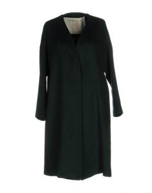 Пальто SHIRTAPORTER. Цвет: темно-зеленый