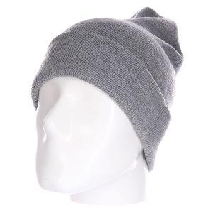 Шапка  Everyday Beanie Grey Today. Цвет: серый