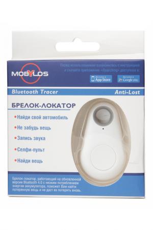 Брелок-локатор Bluetooth MOBYLOS. Цвет: белый