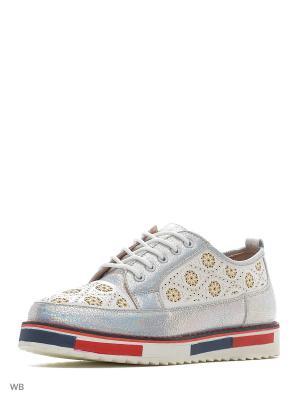 Ботинки Aotoria. Цвет: серый
