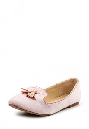 Лоферы L.Day. Цвет: розовый