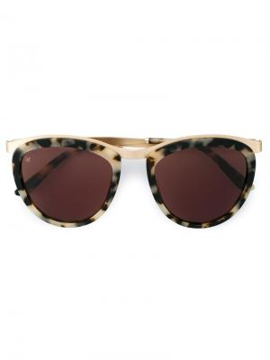 Солнцезащитные очки Comic Strip Smoke X Mirrors. Цвет: коричневый