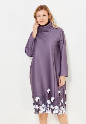 Платье Chic de Femme. Цвет: коричневый