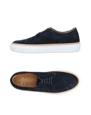 Обувь на шнурках PANTOFOLA D'ORO. Цвет: темно-синий