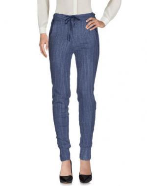 Повседневные брюки TANDEM. Цвет: грифельно-синий