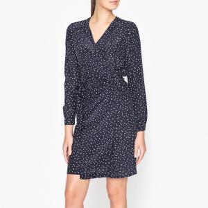 Платье ROXANE HARTFORD. Цвет: темно-синий
