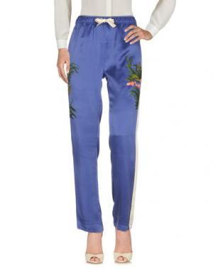 Повседневные брюки MAHARISHI. Цвет: синий