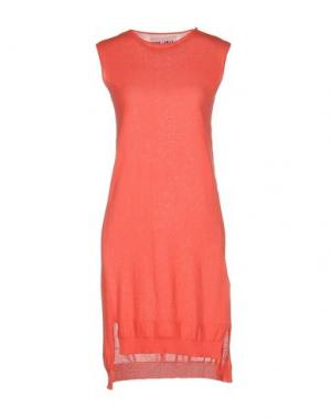 Короткое платье BRAND UNIQUE. Цвет: коралловый
