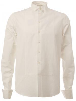 Рубашка с воротником-бабочкой Uma Wang. Цвет: белый